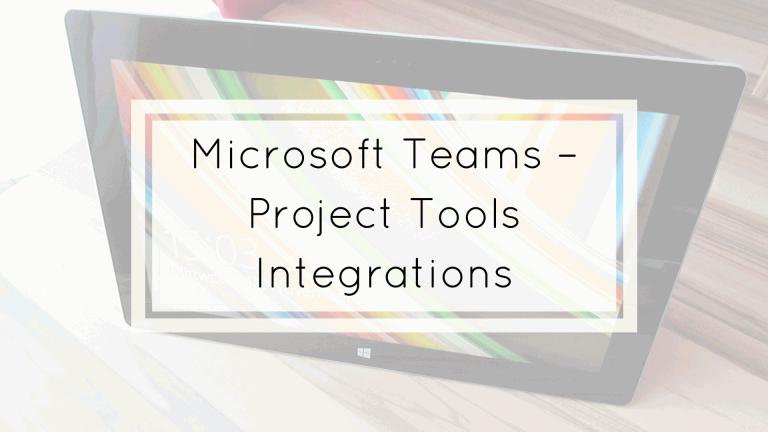 microsoft teams project tools integrations