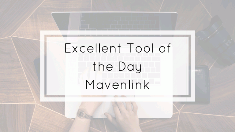 excellent tool of the day Mavenlink