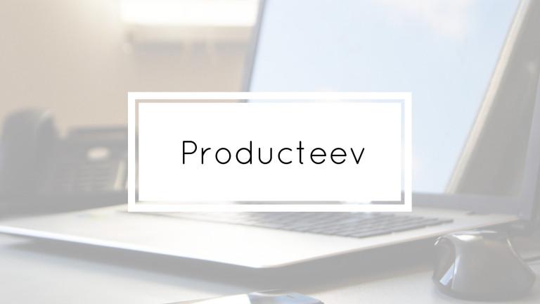 Producteev Portfolio